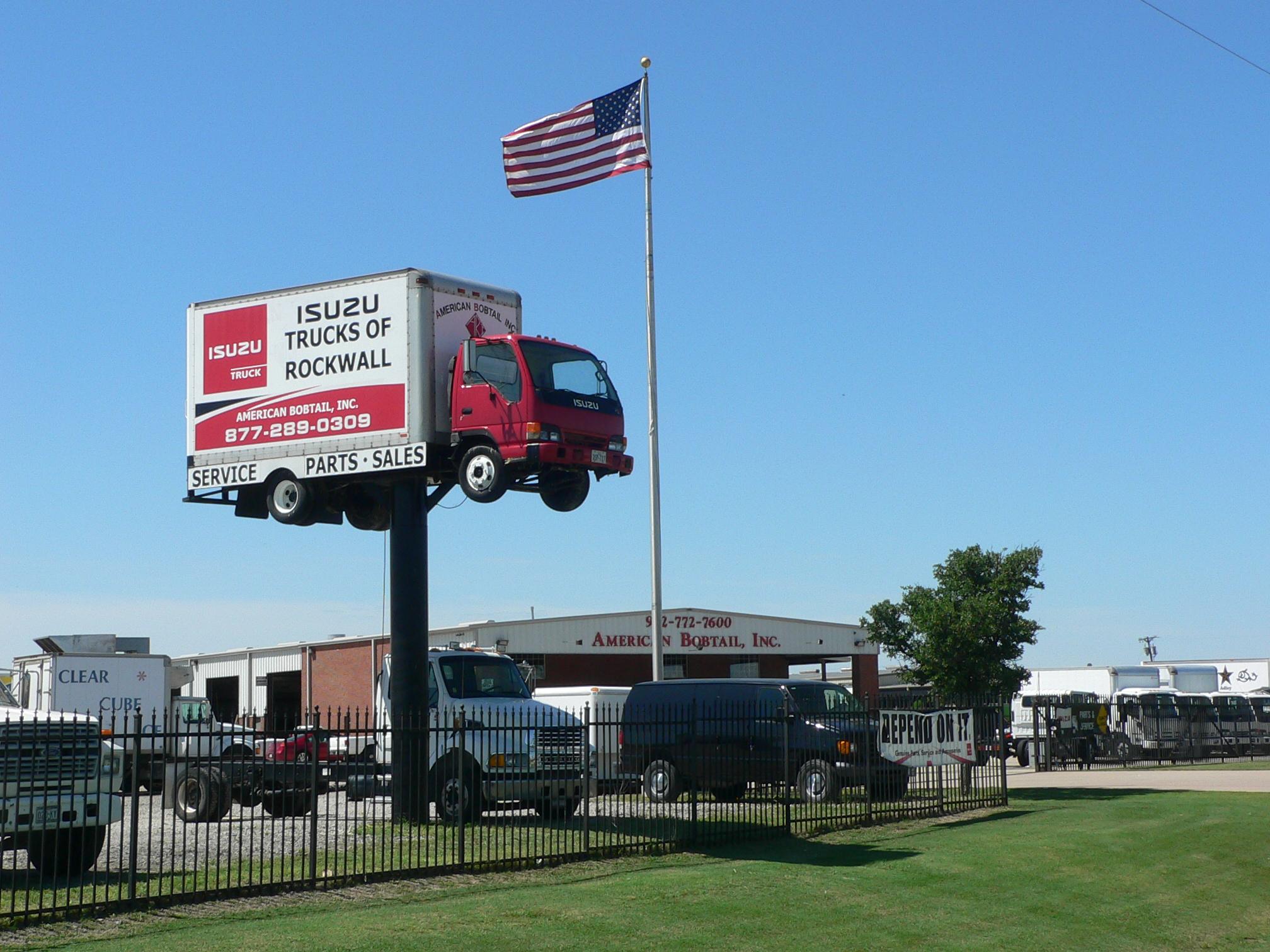 Superb American Bobtail Inc. Dba Isuzu Trucks Of Rockwall  Rockwall, TX.